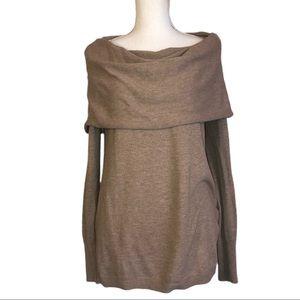 3 for $20- Shrinking Violet Cowl-neck Sweater.